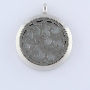 Stainless Steel Swirl Scent Pendant