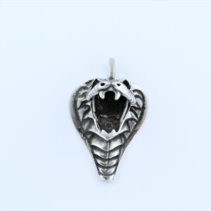 Stainless Steel Cobra Pendant