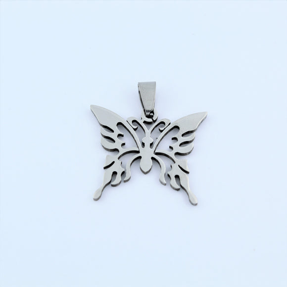 Stainless Steel Butterly Pendant