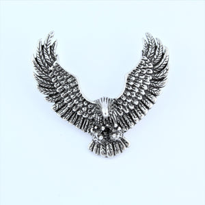 Stainless Steel Bald Eagle Pendant