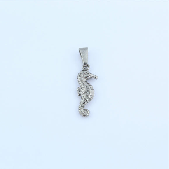Stainless Steel Seahorse Pendant