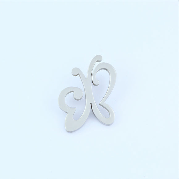 Stainless Steel Open Butterfly Pendant
