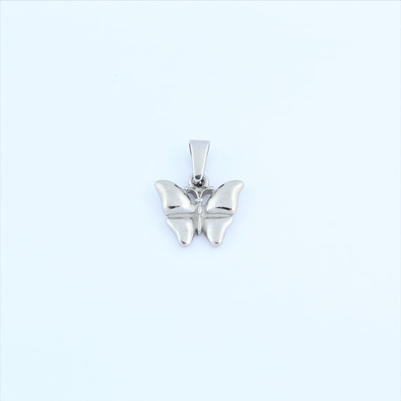 Stainless Steel Small Butterfly Pendant