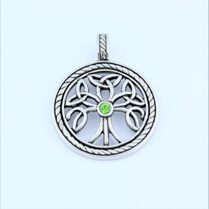 Stainless Steel Celtic Tree Of Life Pendant