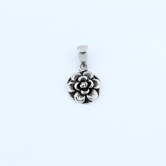 Stainless Steel Small Flower Pendant