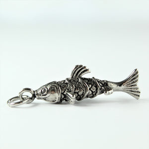 Stainless Steel Koi Fish Pendant