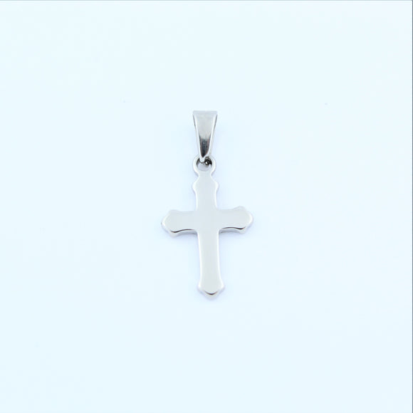 Stainless Steel Small Cross Pendant