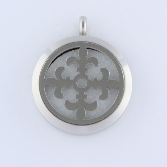 Stainless Steel Fleur Scent Pendant