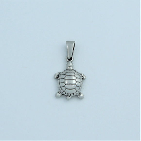 Stainless Steel Small Turtle Pendant