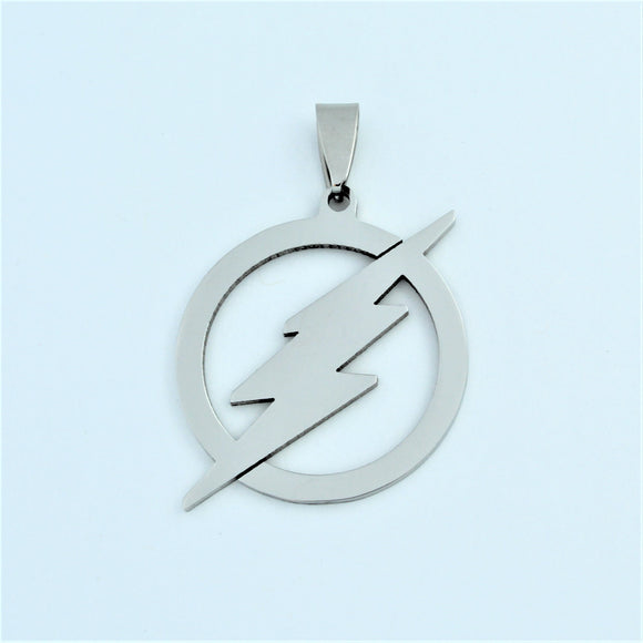 Stainless Steel Lightning Pendant