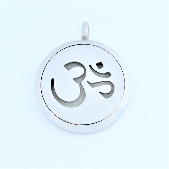 Stainless Steel OHM Scent Pendant