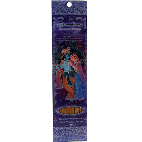 Govardhana Stick Incense - Loban and Coconut