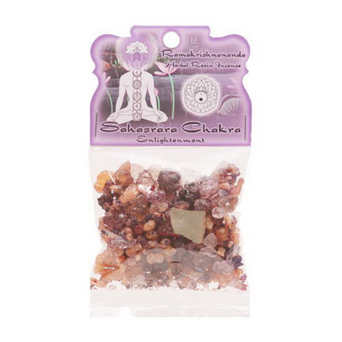 Sahasrara (Crown) Chakra Resin Incense - Enlightenment