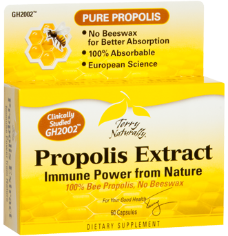 Bee Propolis extract.  immune support from nature