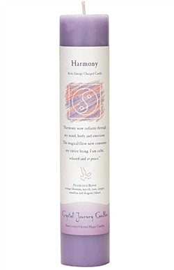 Harmony-Reiki Charged Herbal Candle