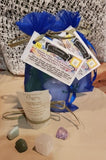 Crystals and Votive Candle Intention Bags