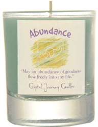 Crystal Journey Herbal Magic Filled Votive Holder Jars
