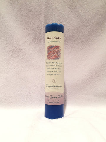 Good Health-Reiki Charged Herbal Candle