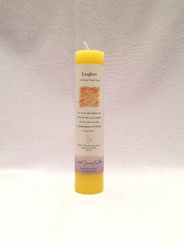 Laughter-Reiki Charged Herbal Candle