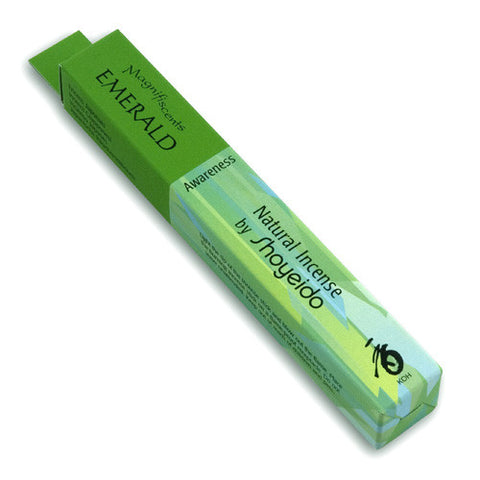 Emerald-Awareness-Shoyeido Incense
