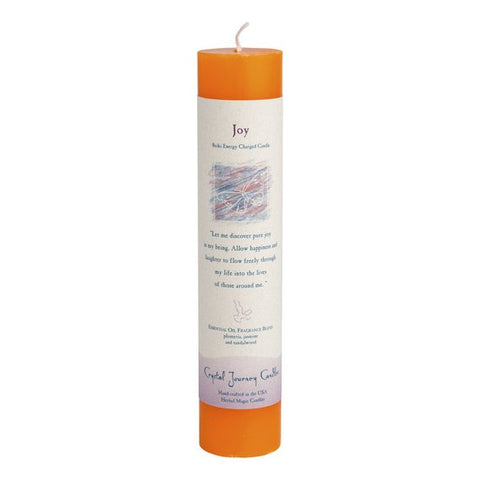 Joy-Reiki Charged Herbal Candle