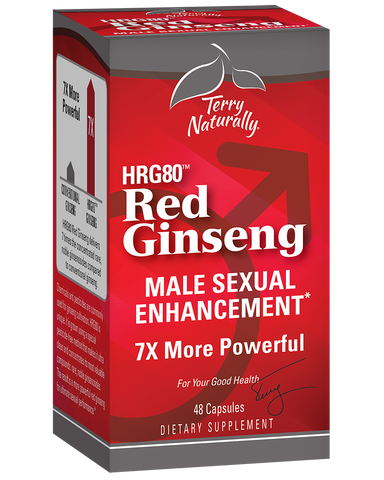 Red Ginseng (HRG80™) Male Sexual Enhancement*