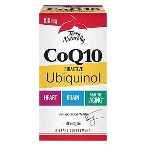 Terry Naturally CoQ10 with Bioactive Ubiquinol 60 softgels