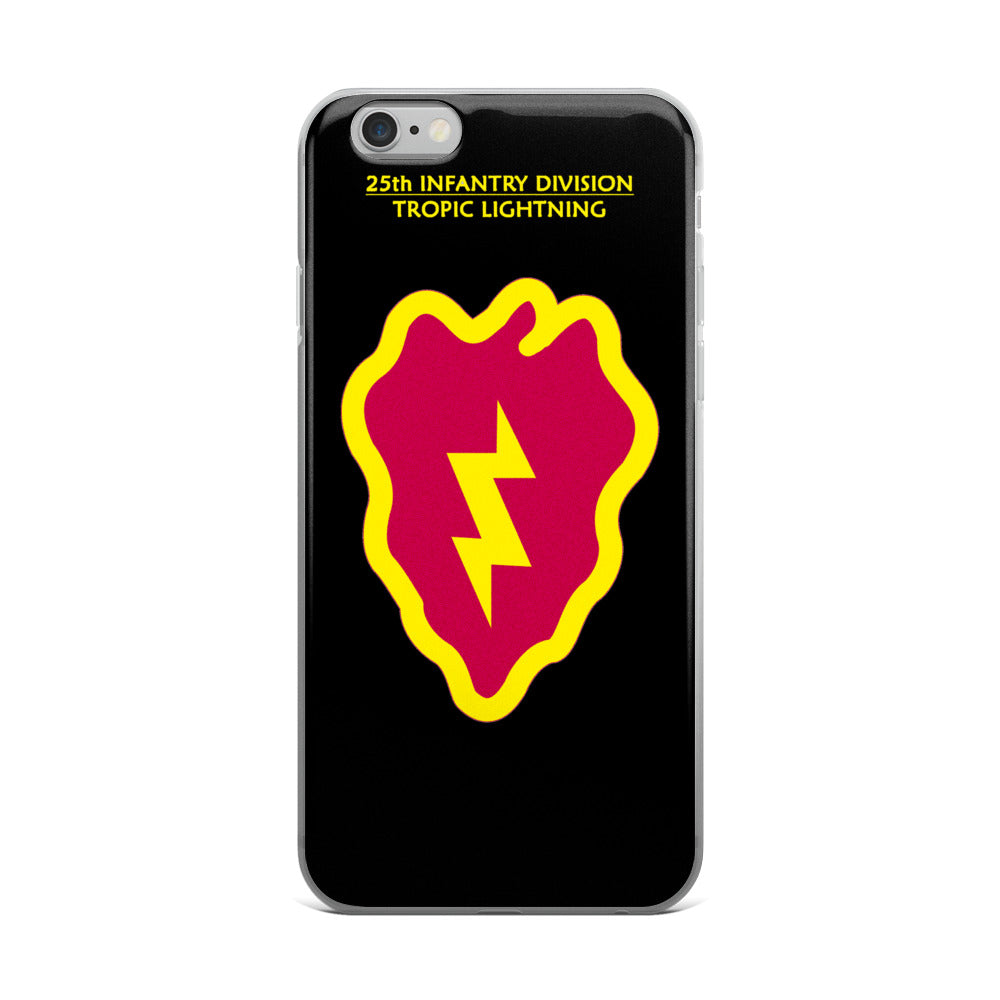 25th Infantry Division iPhone case