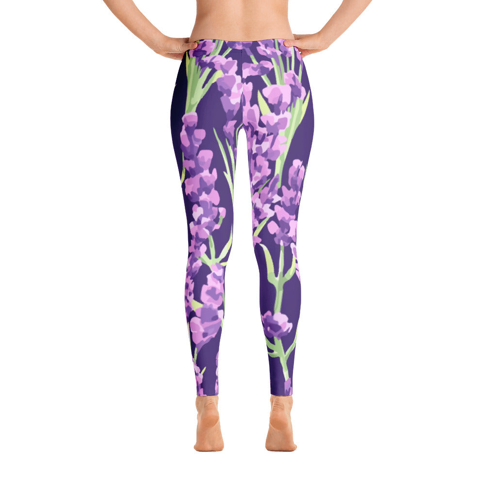 Orchid Floral Leggings