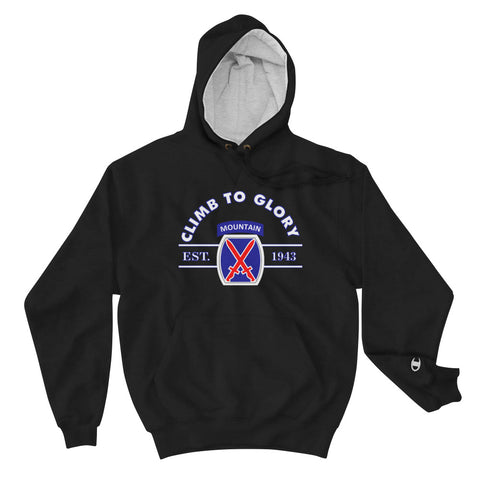 Tenth Mountain Champion Hoodie
