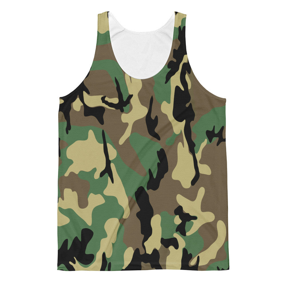 Woodland Camo Classic Fit Tank Top