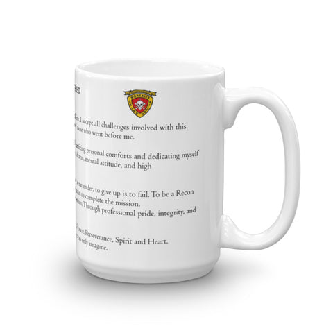Recon Creed Mug (3rd BN)