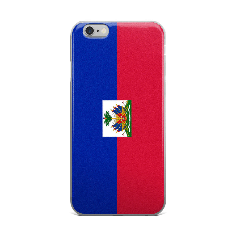 Haitian Flag iPhone Case