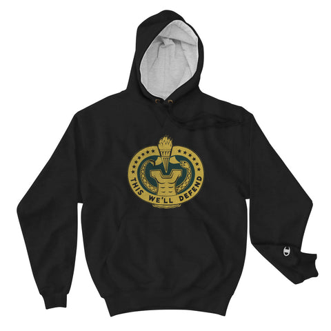 This We'll Defend Champion Hoodie