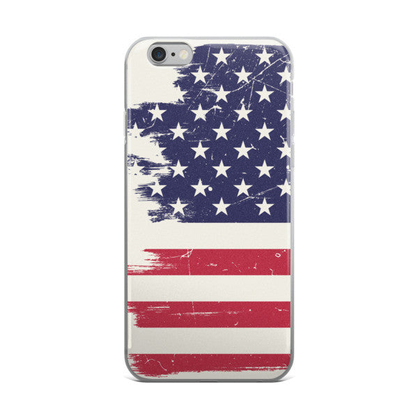 Battle Tested Flag iPhone case