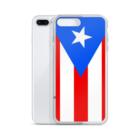 Puerto Rican Flag iPhone case