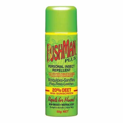 BUSHMAN SPRAY W/SUNSCREEN 20% DEET