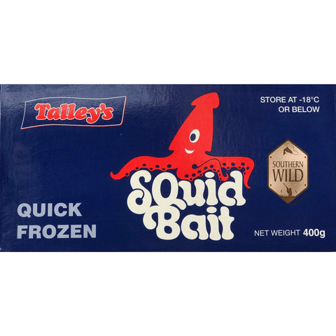 TALLYS FROZEN SQUID BAIT 400G