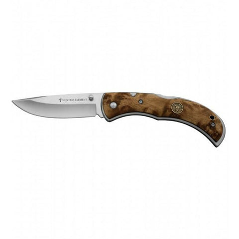HUNTERS ELEMENT CLASSIC FOLDING DROP POINT KNIFE - Southern Wild