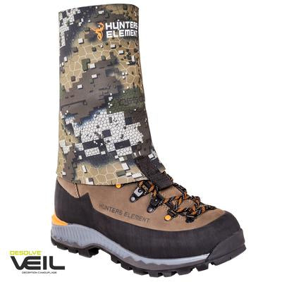 HUNTERS ELEMENT GRAVEL GUARD GAITER NO ZIP