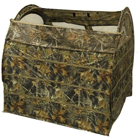 Game On Haybale Blind 3 Man Camo