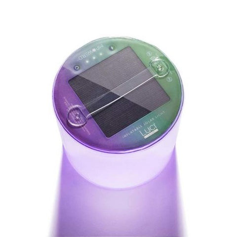 LUCI COLOUR INFLATABLE SOLAR LANTERN RECHARGABLE LIGHT