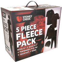 STONEY CREEK FLEECE PACK BAYLEAF & BLACK - Southern Wild