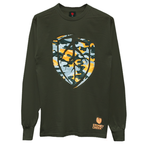 STONEY CREEK TEE L/S CAMO HEART - Southern Wild