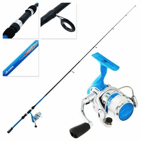 OKUMA ROD VIBE KIDS SET BLUE