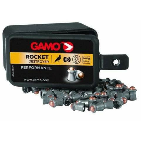 GAMO .177 ROCKET AIR RIFLE PELLETS 150PK