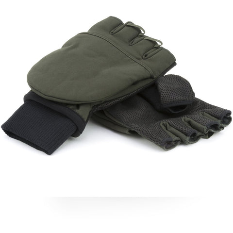 SEALSKINZ COLD WEATHER CONVERTIBLE MITT OLIVE/BLACK