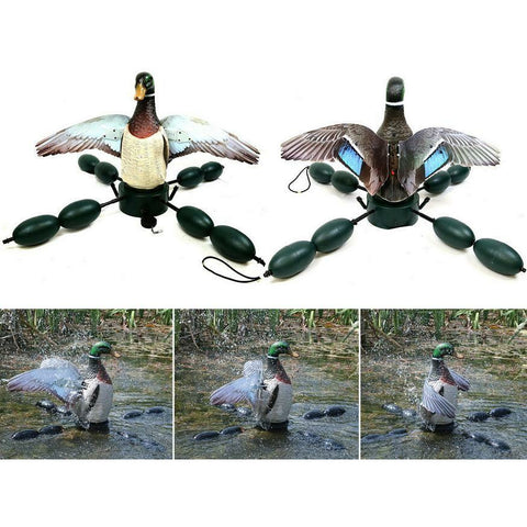 OUTDOOR OUTFITTERS DECOY MALLARD FLAPPING SPLASHER