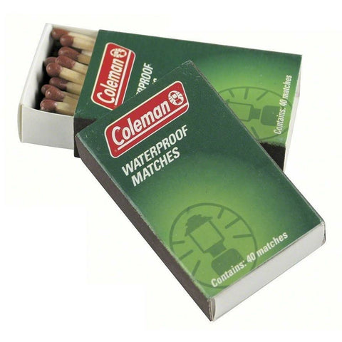 COLEMAN WATERPROOF MATCHES 1PK
