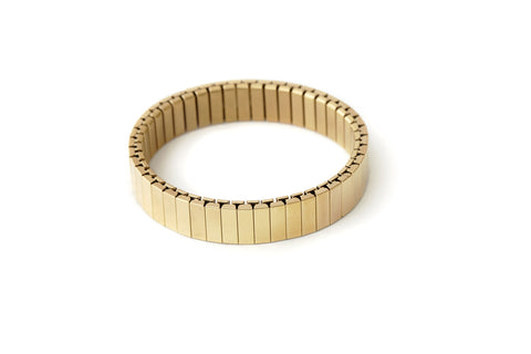 Rilee & Lo Yellow Gold Stacking Bracelet for the Apple® Watch - Shiny